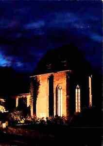 Kirchen-Motiv-Ansichtskarte-Kirche-Schillerkirche-in-JENA-Thueringen-Beleuchtung