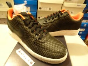 NIKE X UNDEFEATED LUNAR AIR FORCE 1 BLK OLIVE UNDFTD SUPREME 652805 003 SZ 11.5