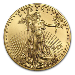 2017 1 oz Gold American Eagle Coin BU - SKU #117271