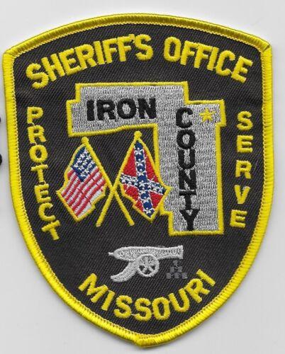 Cannon patch Iron County Sheriff State Missouri MO