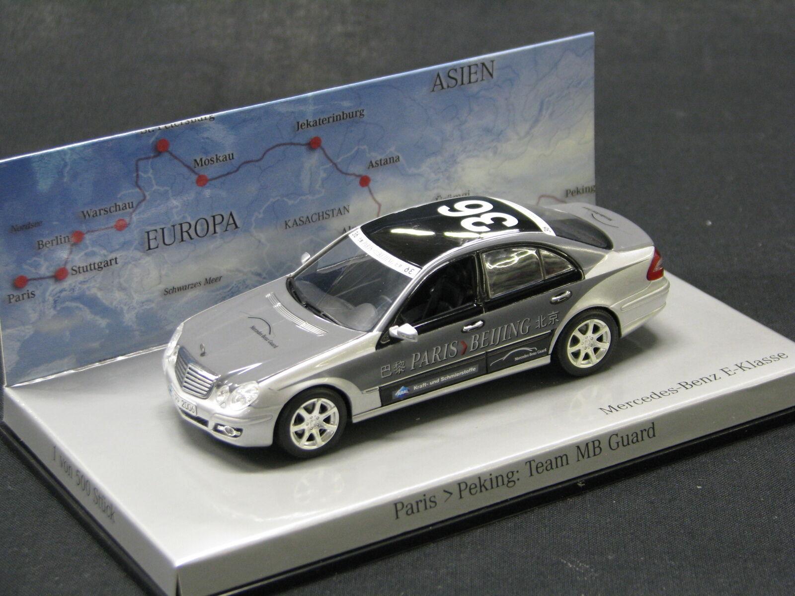 Minichamps Mercedes-Benz E-Klasse 320 CDI 2006 1 43  36 Paris-Beijing (JS)