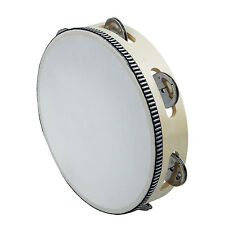 "6"" Musical Instruments Tambourine Tamborine Drum Round Percussion for KTV Party"