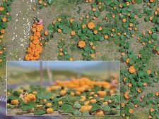 Busch 1201 Kürbisfeld  Kürbisse Kürbis mit Pflanzen 80 Stück H0 Neu