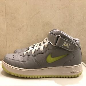 e0192d7cde96 Details about Nike Air Force 1 Jewel Swoosh NYC 9.5 10 Rare Kith Retro  Complex AF1 Uptowns