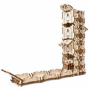 UGEARS-Modular-Dice-Tower-Mechanical-Wooden-Model-Kit-70069
