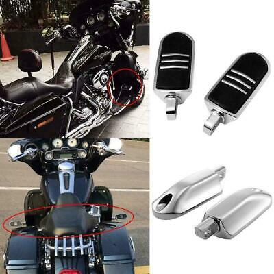 Motorcycle Foot Pegs Highway Stream-liner Footrest Mount Kit 1 1//4 32mm Engine Guard for Touring Sportster Dyna Softail V-Rod