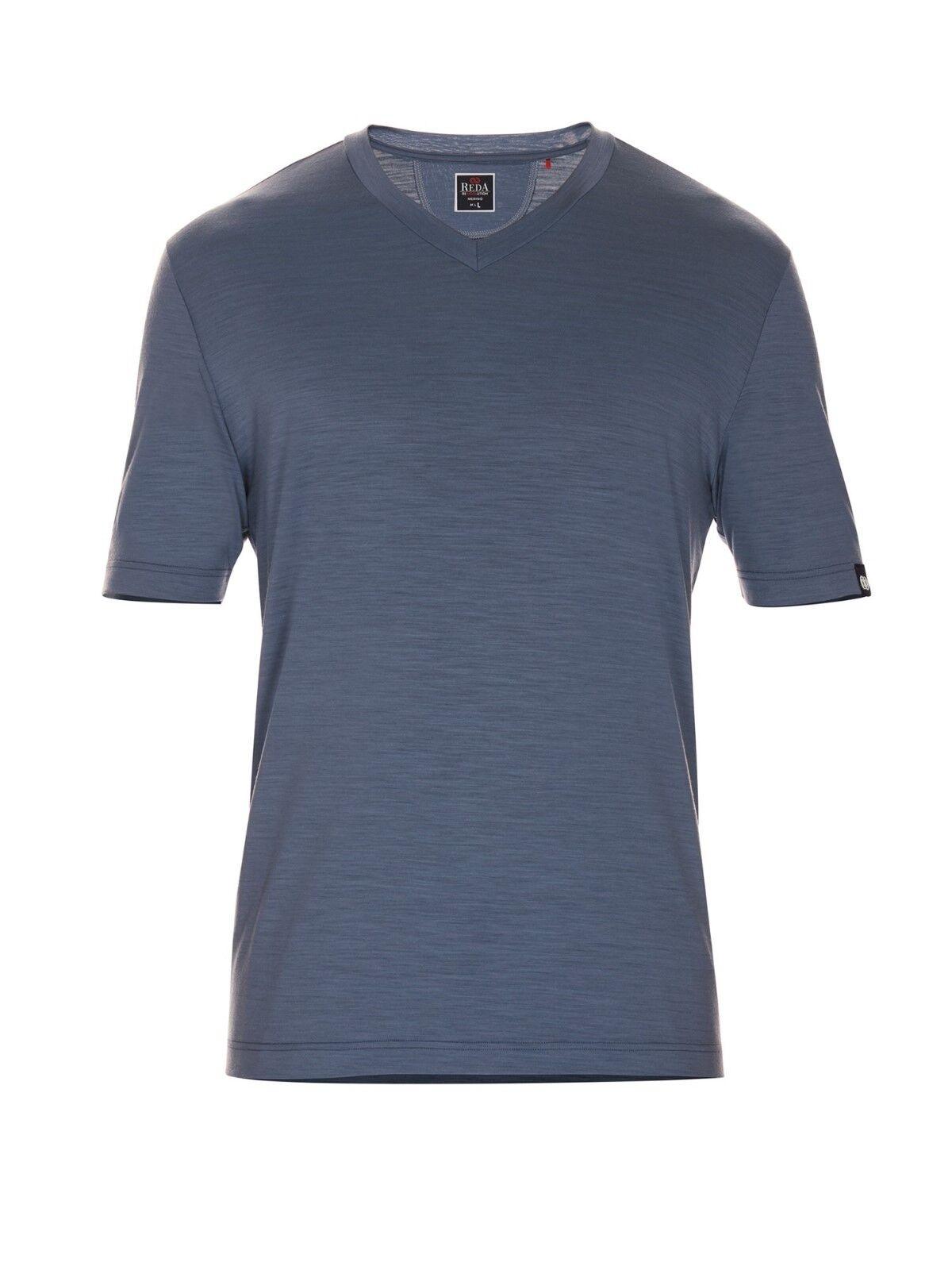 rotA Rewoolution Manni, Mens T-Shirt Short Sleeve 140, V-Ausschnitt, Merinowolle  | Produktqualität