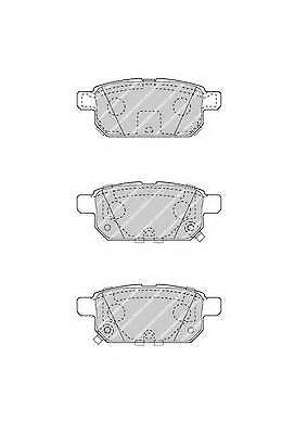 Ferodo FDB4430 Rear Axle Premier Car Brake Pad Set Replaces 5580068L00