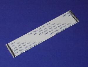 FFC-A-20Pin-1-0Pitch-10cm-Flachbandkabel-Flat-Flex-Cable-Ribbon-AWM-Kabel