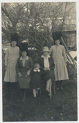 Qualifiziert Foto/ak - Junge Damen Mit Schicken Hüten (y429) GläNzend
