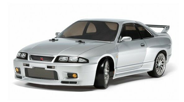 Tamiya 58604 1 10 RC Car TT-02D Drift Chassis Nissan Skyline GT-R R33 w ESC