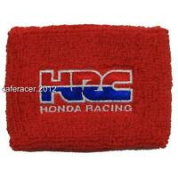 Hrc Honda Cbr Brake Reservoir Socks Fluid Tank Cover Red 125 600rr 1000rr