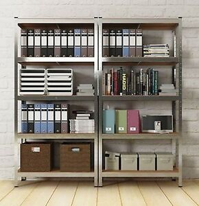 Superb Image Is Loading Metal Rack Tower Unit Sturdy Strong Open Shelves