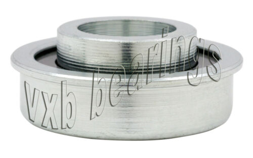 """Unground Flanged Full Complement Ball Bearing 3//8/""""x1 1//8/""""x1//2/"""" inch Heavy Duty"""