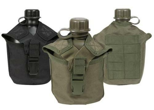 Rothco 40111 Molle Compatible 1 QT Canteen Cover-Olive ou Noir