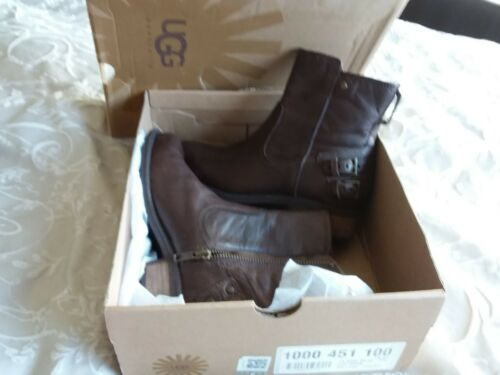 5 £ Bargain rrpprice Boots Box Ugg New Boots 230 Uggs brand genuine Leather 3 In vwxwqFOP