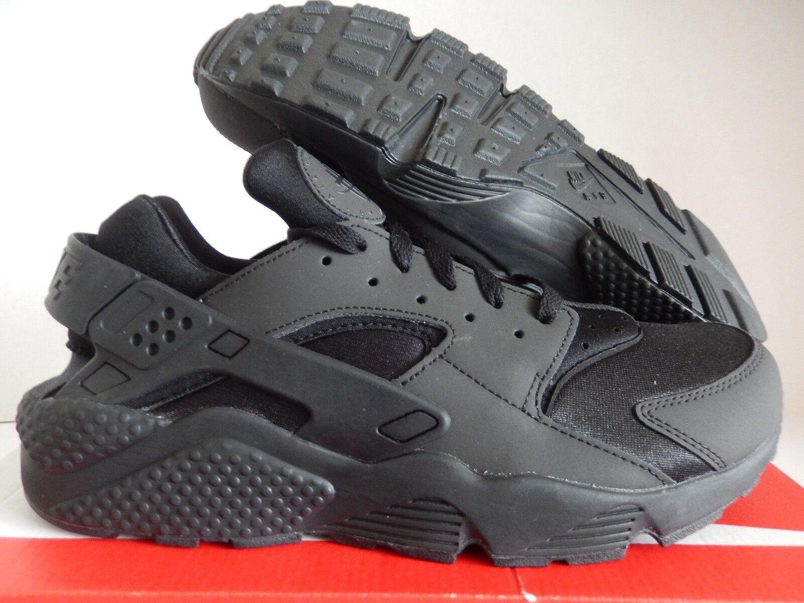 NIKE AIR HUARACHE ID BLACK-DARK GREY SZ 11.5 [777330-978]