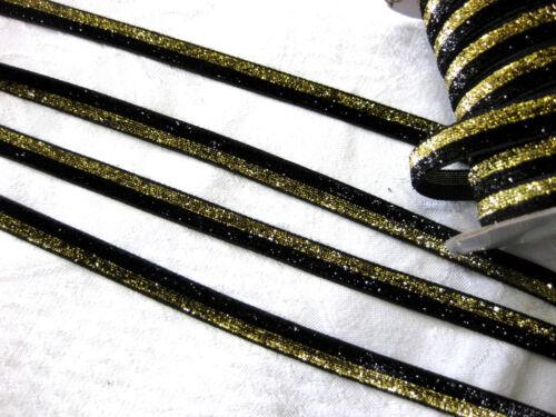 glitzerband 6 0,66 € par mètre 10 mm de large, couleur au choix 3 m Lurexband