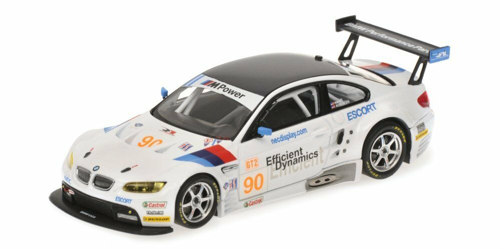 BMW m3 gt2  90 ALMS 2009 1 43 MODEL 400092990 MINICHAMPS