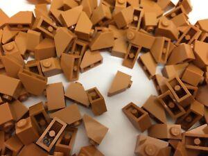 Lego Medium Dark Flesh Slope 1x2 20 pieces 3040 NEW!!!