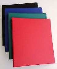 Assorted Colors Of Vinyl 3 Ring Binders 12 Inch For 85 X 11 Sheets 4 Pack