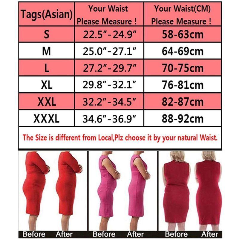c83b2cdb47 Women High Waist Body Shaper Thong G String Tummy Control Invisible  Underwear