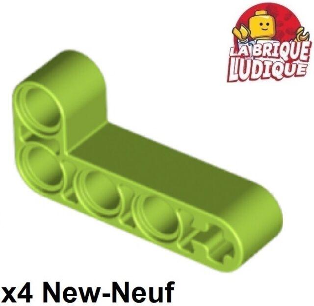 2 LEGO Parts~ Technic Liftarm 2 x 4 L-Shape Thick 32140 DARK BL GRAY