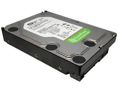 """WD Green AV-GP WD20EURX 2TB 64MB Cache SATA 6Gb//s 3.5/"""" Surveillance Hard Drive"""