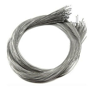 Stainless Steel Gear Bicycle Brake Line Shifter Core Inner Cable Wire 10Pcs