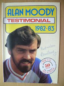 Alan Moody Testimonial ProgrammeSouthend United 1982 SIGNED by ALAN MOODYORG - ilford, Essex, United Kingdom - Alan Moody Testimonial ProgrammeSouthend United 1982 SIGNED by ALAN MOODYORG - ilford, Essex, United Kingdom