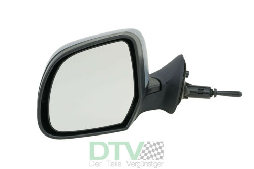 Außenspiegel Links Fahrerseite Lackierbar Dacia Duster 04//10-02//12