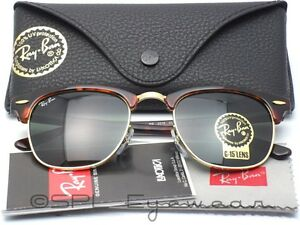 87c6227bd8c01f ... promo code image is loading ray ban clubmaster rb3016 w0366 49 21  tortoise 89313 a3fb2 ...