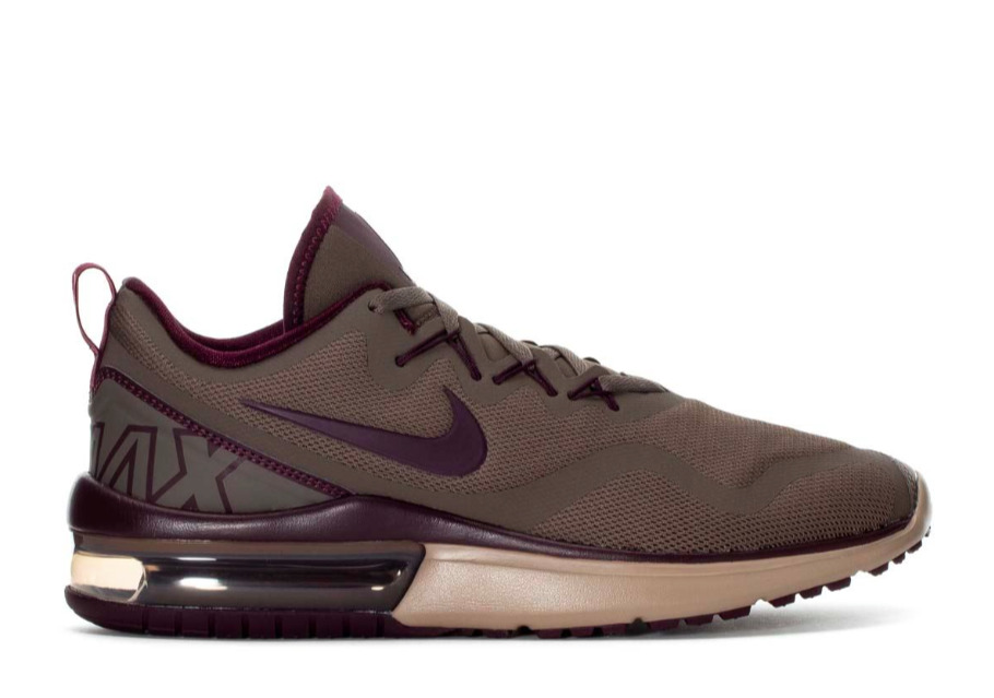 NIKE AIR MAX FURY LOW RUNNING LOW MEN SHOES OLIVE/BURGUNDY AA5739-200 Price reduction