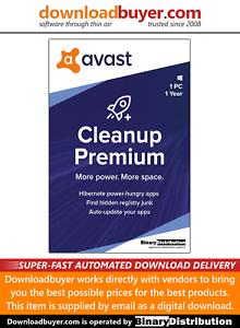Avast Cleanup Premium 2020 - 1 PC - 1 Year Download   eBay