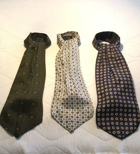 Stylist curated Lot of 3 Men's Vintage English Made Ascots