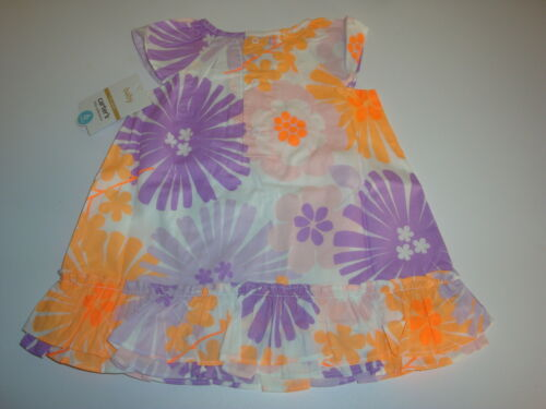 Carter/'s 2 Piece Floral Dress /& Bloomer Style Diaper Cover ~ Size Newborn
