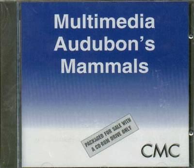 100% Vero Multimedia Audubon's Mammiferi Nuovo E Sigillato-