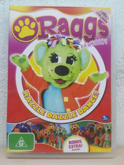 Raggs - Razzle Dazzle Dance! (DVD, 2010) KIDS Channel 7 - PAL Region 4