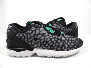 74b8f5045 adidas Originals Women s ZX Flux Decon Training Shoes Black Size 6.5 ...