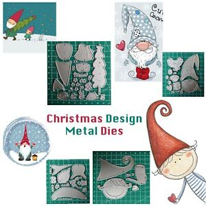 Metal-Cutting-Dies-Stencil-Santa-Elf-Kid-Cartoon-Design-DIY-Scrapbooking-Cards