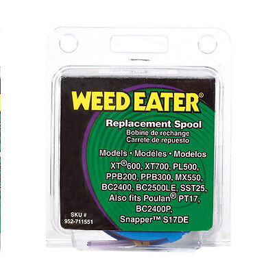 Weed Eater Replacement Line Trimmer Spool .08in Dia x 25ft XT600 SST25 952711551
