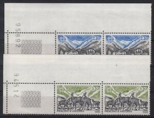 CEPT-Ausgabe-ANDORRA-frz-1986-postfrisches-Paar-mit-Zaehlnummer-Y262-1