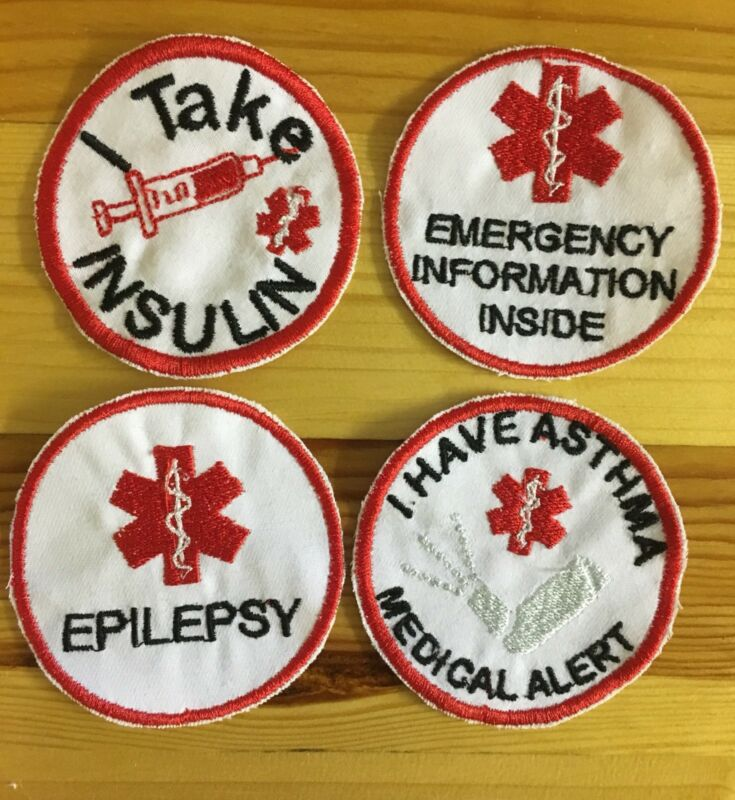 Medical alert patch