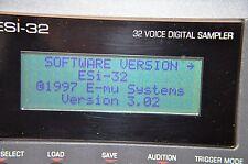 EMU esi-32 esi2000 OS UPGRADE KIT v3.02