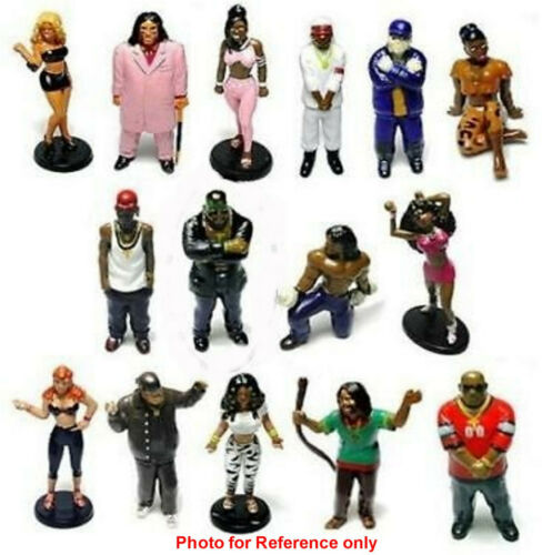 15 HIPSTER FIGURINES TO COLLECT THIS IS FOR 1 **CRUSH** HOMIES
