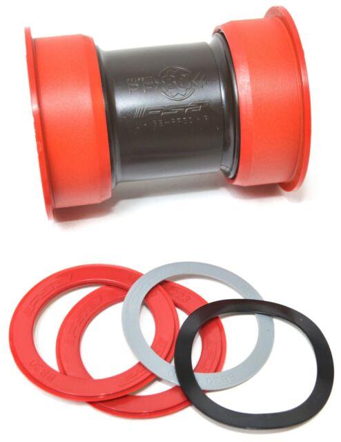 FSA PF30 Press Fit Ceramic Bearings BB30 BB386 Diameter 46mm Road bike use