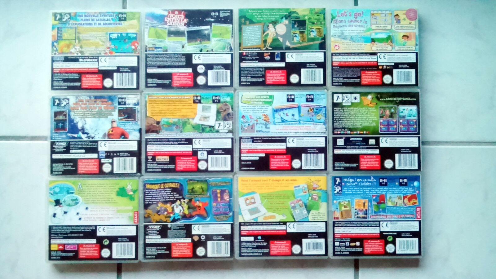12 JEUX DS COMPATIBLES 3DS NINTENDO STAR WARS - Avis StarWars