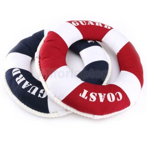 Mode Design Deko Rettungsring Maritim Kissen Dekokissen Sofakissen Wanddeko