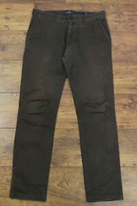 JOULES-Mens-COFFEE-THE-CHINO-Trousers-Waist-32-034-Leg-32-034