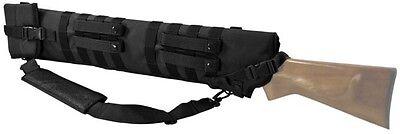 """Deluxe MOLLE Shoulder Sling Shotgun or Rifle Tactical Scabbard Case 29-33"""" BLACK"""